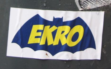 Ekro sticker