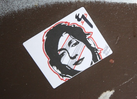 sticker by an unidentified artist