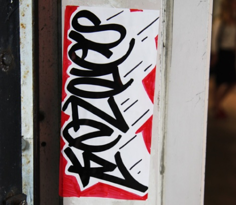 Scaner tag on sticker