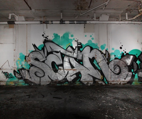 Scan in an abandoned building in the South West