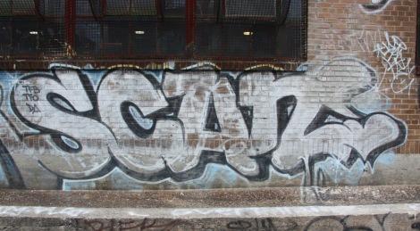 Scaner graffiti in Petite Patrie