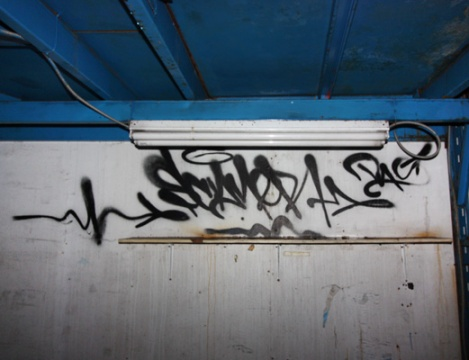 tag by Scan in an abandoned building in the South West