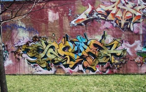 Scaner graffiti in HoMa