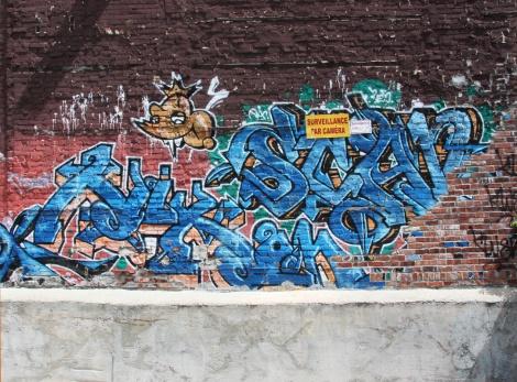 Scaner graffiti on Clark