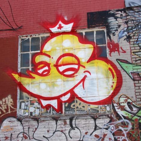 Scaner piece on an abandoned garage