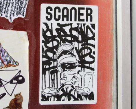 Scaner sticker