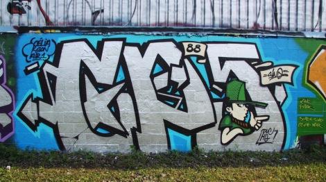 Sino graffiti piece