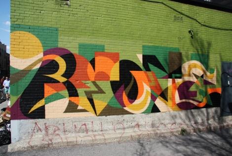 Mural by (presumably) Matt W Moore