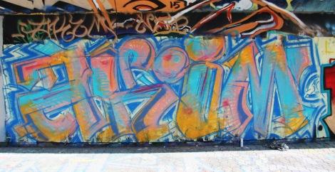 Akim at the PSC legal graffiti wall