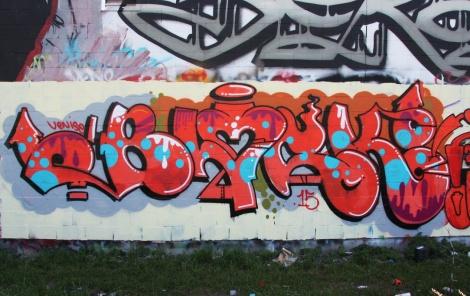 Block graffiti in Hochelaga
