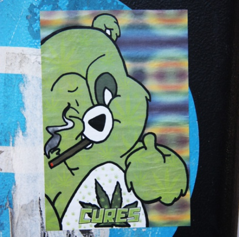 sticker by Cures