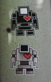 Lovebot stickers