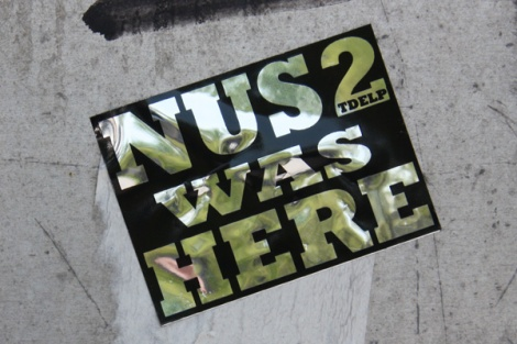 Nus2 sticker