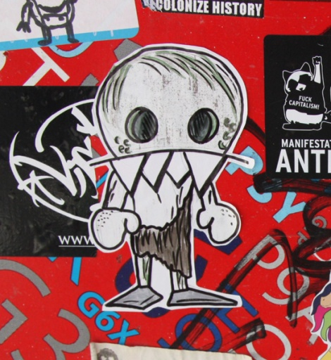 sticker by National Zombi
