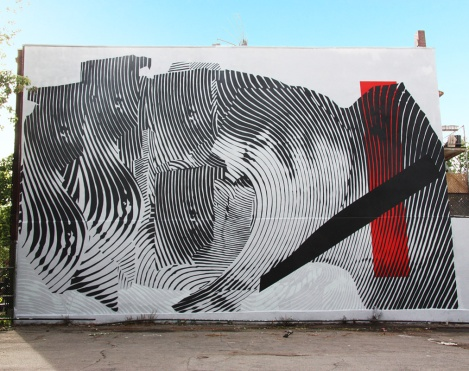 2Alas' contribution to the 2015 edition of Mural Festival