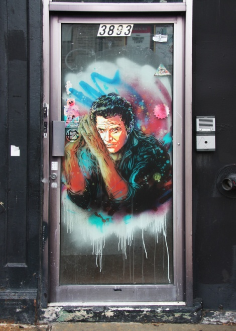 One of the two C215 contributions to the 2015 edition of Mural Festival