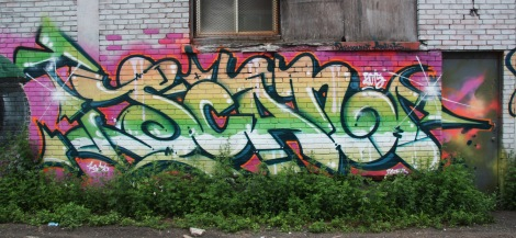 Scaner graffiti at Chromatic Festival 2015