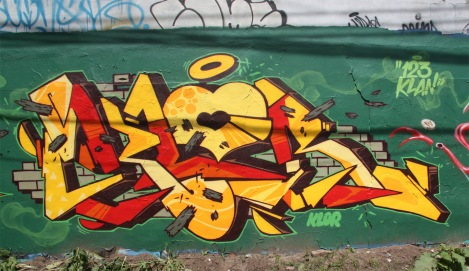 graffiti by 123Klan's Klor