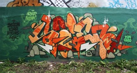 graffiti by 123Klan's Scien