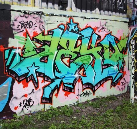 Deko graffiti in Rosemont