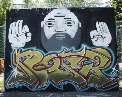 Noper near PSC legal graffiti wall