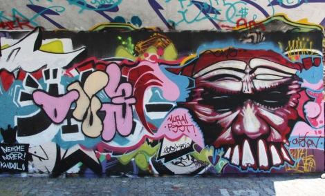 One Ton on PSC legal graffiti wall