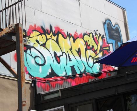 Scaner piece above LNDMRK offices