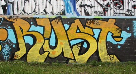 Piece by Rusto in Rosemont