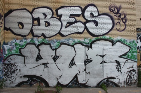 Pieces by Obes and someone from YU8