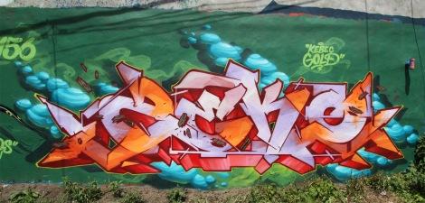 Piece by Zek in Ville-Marie