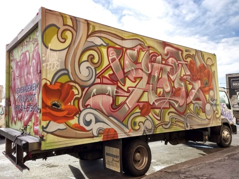 truck side by Janek for the 2018 edition of Hip Hop You Don't Stop