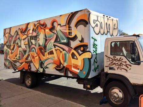 truck side by Janek