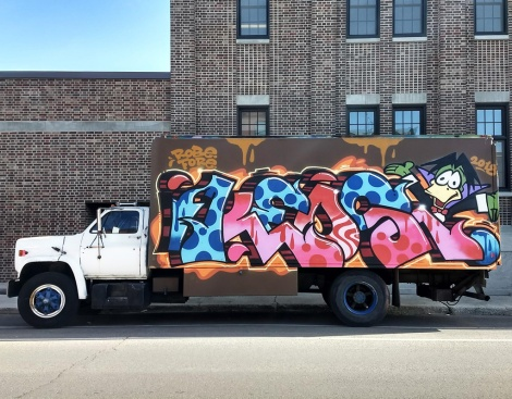 truck side by Keos for the 2018 edition of Hip Hop You Don't Stop