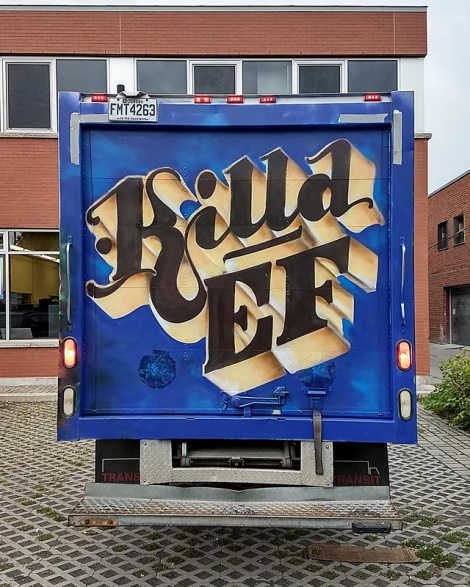 Back of truck by Killa EF