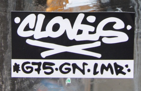 Clovis sticker