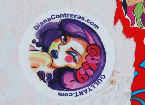 Didi aka Diana Contreras sticker
