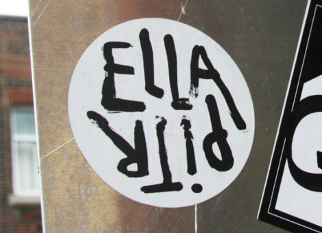 Ella & Pitr sticker