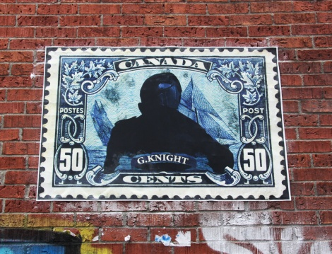 G.Knight wheatpaste