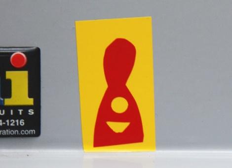 minimalist mini-sticker by Homsik