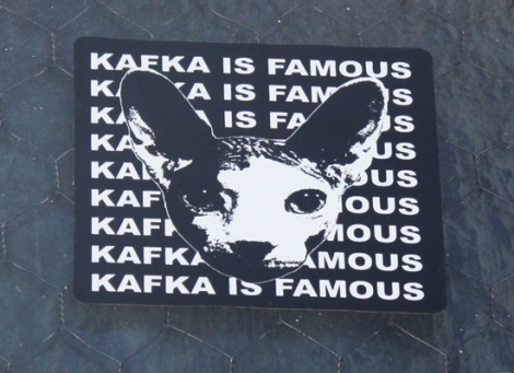 Kafka sticker