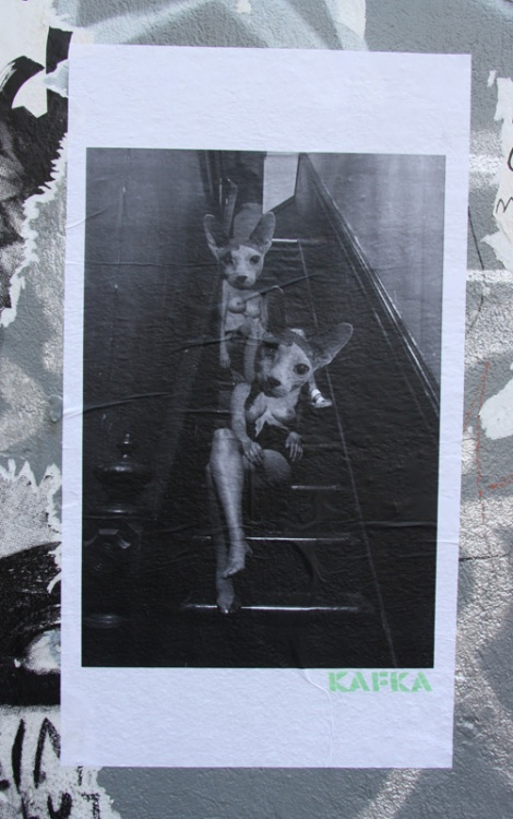 pasted poster by Kafka