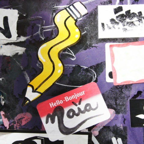 stickers by Naia and Homsik (pencil)