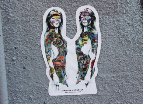 Sandra Chevrier sticker