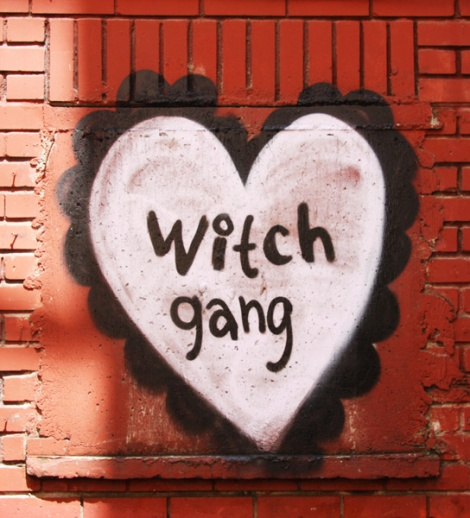 Stela representing the Witch Gang in a Plateau back alley