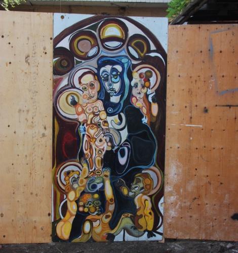 Unknown artist in Hochelaga