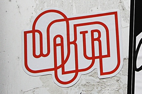 Waktr sticker