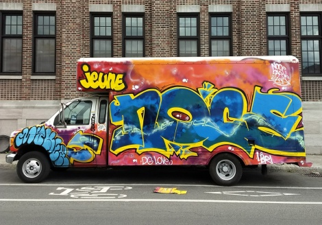 truck side by Noce for the 2018 edition of Hip Hop You Don't Stop