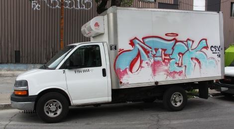Otek on truck