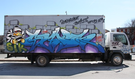 Shok piece on truck