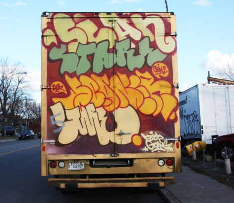 Scaner and Stare on back of truck